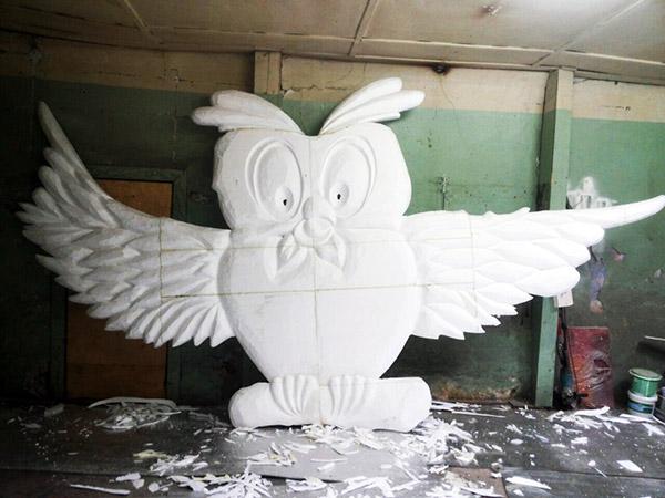 Скульптура из пенопласта как сделать - Kronos-m.ru